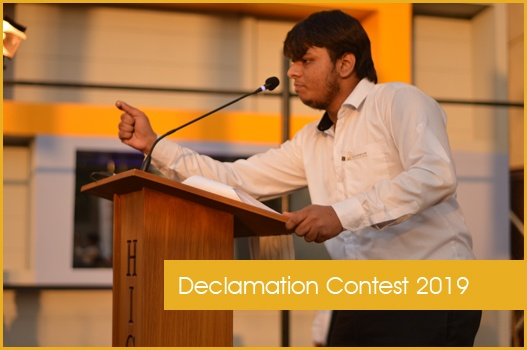 Declamation Contest 2019
